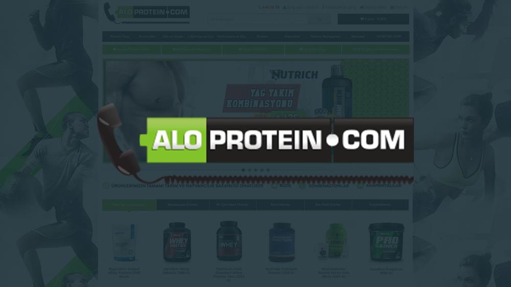Aloproteın.com'dayız !
